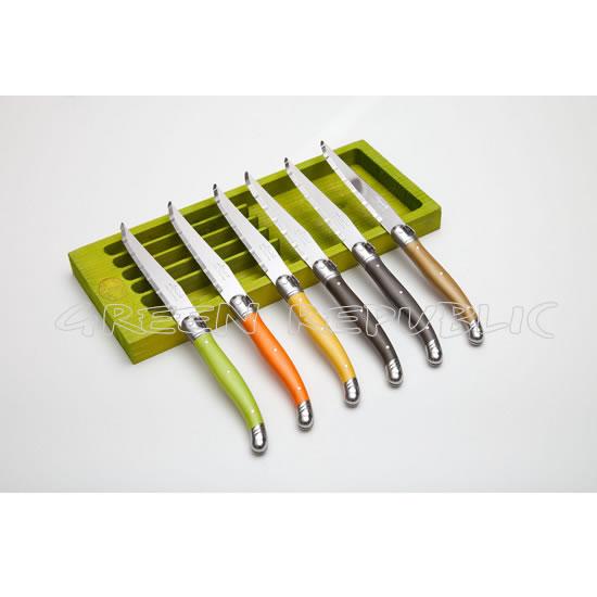 Couteaux verts